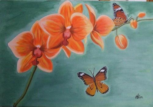 orchydées et papillons.jpg