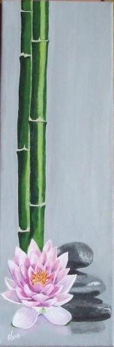 bambous nenuphar et cailloux.jpg